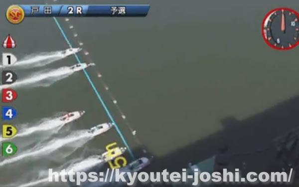 ボートレース戸田スタートタイミング