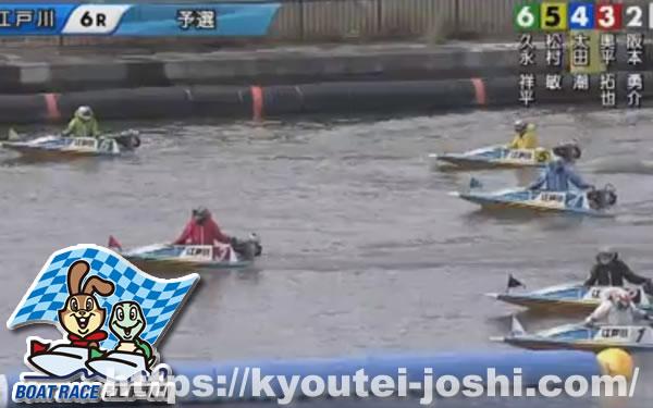 ボートレース江戸川前付け