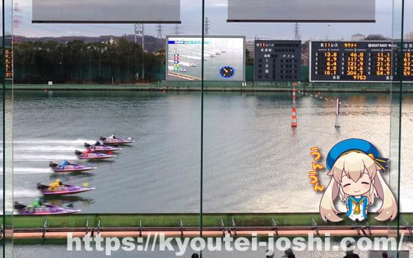 ボートレース多摩川スタート展示